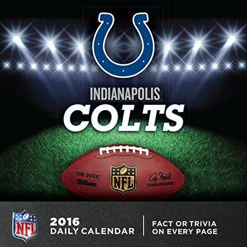 Turner Indianapolis Colts 2016 Box Calendar, January-December (8051441)