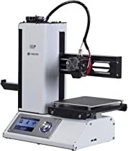 Monoprice Select Mini 3D Printer v2 - White With Heated (120 x 120 x 120 mm) Build Plate, Fully Assembled + Free Sample PL...