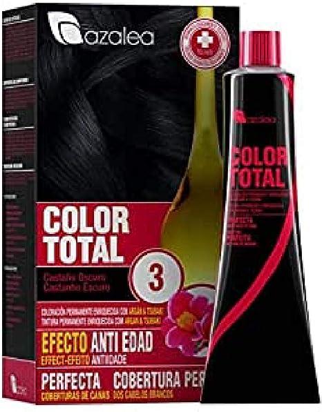 Azalea Total Tinte Capilar Permanente, Color Avellana - 224 gr