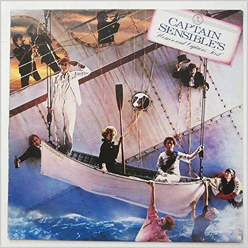 Captain Sensible - Women And Captains First - A&M Records - AMLH 68548