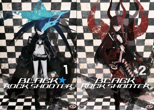 black rock shooter - serie completa (eps 01-08) (2 dvd) box set
