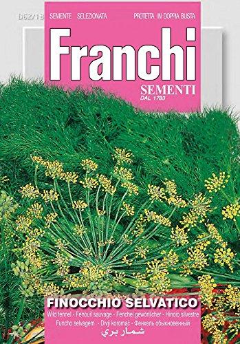Franchi Sementi DBA62-18 Gewöhnlicher Fenchel Selvatico (Fenchelsamen)