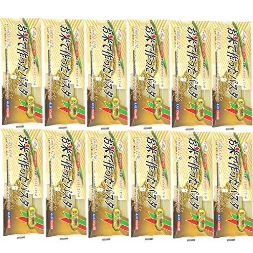 グルテンフリー パスタ スパゲッティ 400gx12袋 ライスパスタ 米粉100% お米麺 小麦粉不使用 4人前x12袋