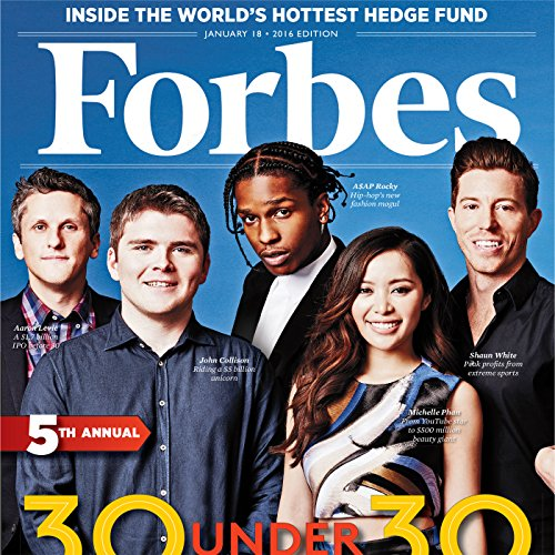 Forbes, January 18, 2016 cover art