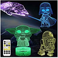 Aoevi 7 Colors Changing 3D Night Light