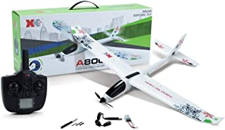 Highpot WL XK-A800 EPO Fixed Wing 5CH Glider Wingspan 780mm Remote Control Airplane Flying Toy Drone (White)