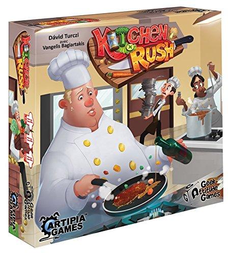 Geek Attitude Games Juego de Société- Kitchen Rush, 1