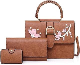 Handbags One-shoulder Messenger Bag Portable Female Wild 3 Piece