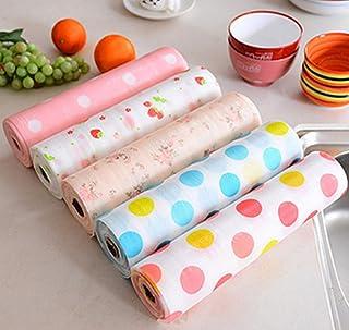 Raawan Antibacterial Cabinet Printed Plastic Foam Wardrobe Moisture Drawer Pad, Waterproof Non-Slip Paper, Kitchen Cupboar...