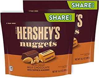 Hershey's Nuggets Milk Chocolate w/ Toffee and Almonds (Pack of 2)