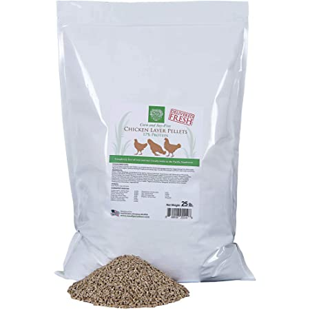 Small Pet Select-Chicken Layer Feed Corn & Soy Free, 17% Protein, 25lb, (Chicken Layer Feed No Soy, No Corn)