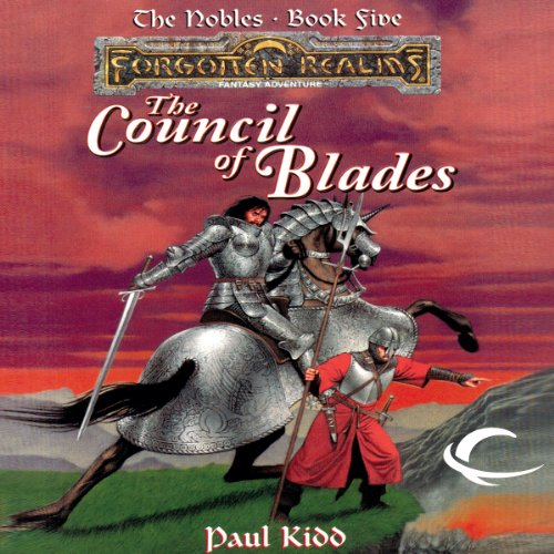 The Council of Blades audiobook cover art