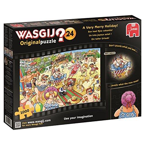 Jumbo - Puzzle Wasgij Original 24 A Very Merry Holiday! 1000 Piezas (619128)