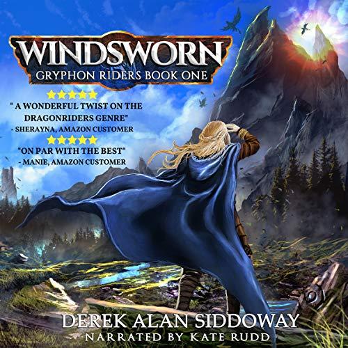Windsworn audiobook cover art