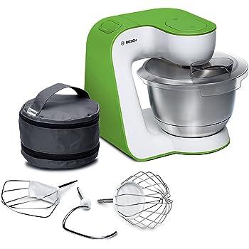 Bosch MUM5 StartLine 900W 3.9L Verde, Color blanco - Robot de cocina (3,9 L, Verde, Blanco, Acero inoxidable, 900 W): Amazon.es: Hogar