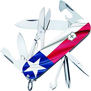 Victorinox Swiss Army Texas Flag Super Tinker Limited Edition