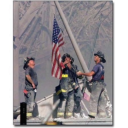 World Trade Center Terrorist Attack 9//11 NYFD Firefighter Silver Halide Photo