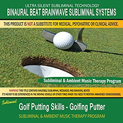 Golf Putting Skills Golfing Putter - Subliminal & Ambient Music Therapy 9