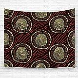 Leisure-Time Decoración de Pared Manta Alfombra de Pared Decorativa Tapiz étnico Brillante Tapiz de Pared 60 'X80'
