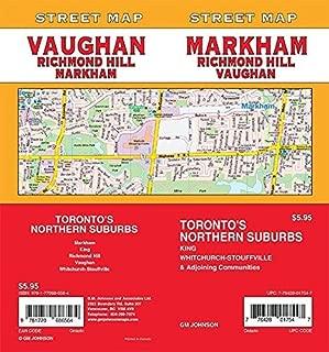 Markham / Vaughan / Richmond Hill, Ontario Street Map