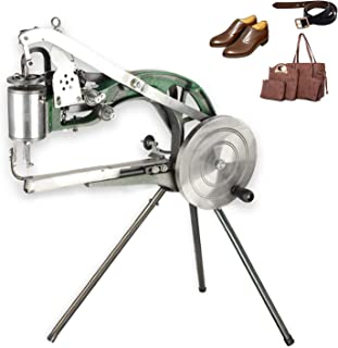 ColouredPeas (Customized Version Lengthens 4 Axes) Cobbler Machine Cotton Nylon Line Sewing Machine Manual Shoe Mending Se...