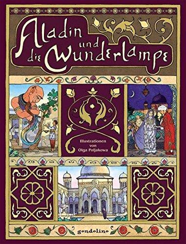 Aladin und die Wunderlampe.: Literaturklassiker für Kinder. Hochwertige Bilderbücher mit wunderschönen Illustrationen. Zum Vorlesen und zum Selberlesen. Für 5,00 €.