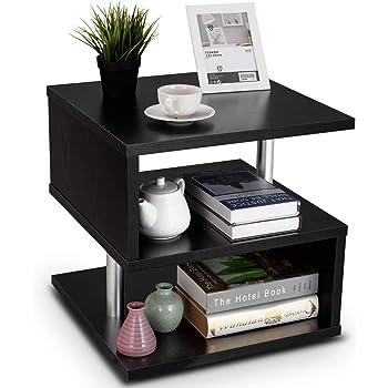 Tavolo da Salotto in Legno da Salotto Tavolino Design 74 x 74 x 43,5 cm Sonoma Ruotabile con Ruote Tavolino da caff/è Tavolino Piccolo Tavolino con Spazio di archiviazione