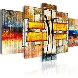 murando Quadro 200x100 cm 5 pezzi Stampa su tela in TNT XXL Immagini moderni Murale Fotografia Grafica Decorazione da parete astratto Forma h-A-0077-b-o