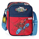 Marvel Spiderman Pop Bandolera Multicolor 15x19x10 cms Poliéster