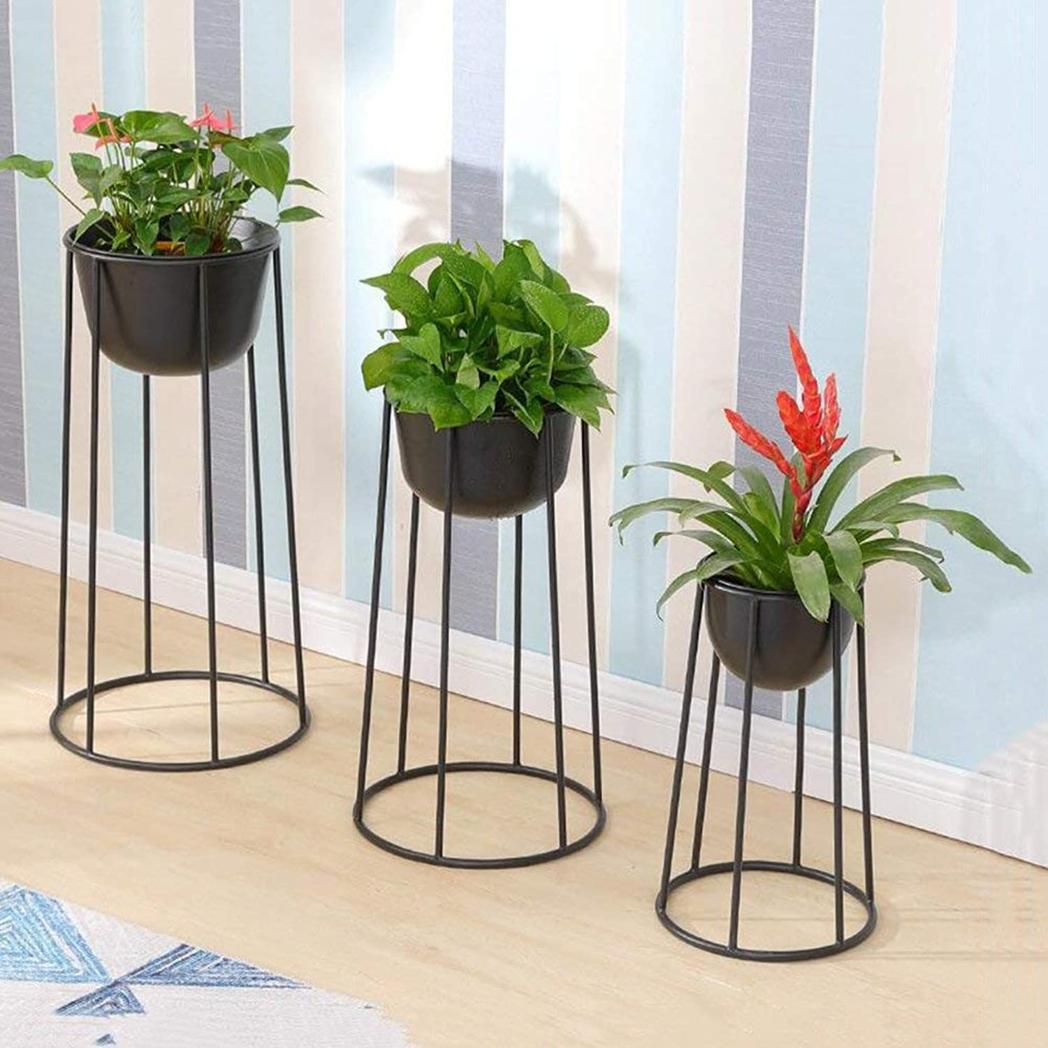 Gifts & Decor Plant Stand Shelf Living Room Art Flower Stand, Living Room Plant Display Stand (Size   SMA)
