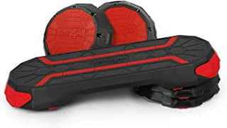 Yes4All Premium Aerobic Stepper, Step Platform Trainer, Aerobic High Step, Zumba Step with Anti Slip Surface and Gripped R...