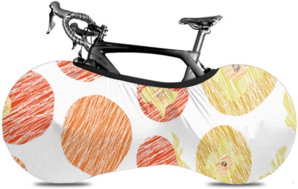 WIEDLKL Ripe Arlington Mall Delicious Persimmon Bicycle Max 53% OFF Indoor Cover Du