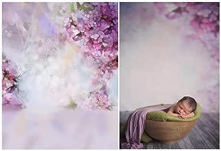 Laeacco 3x5ft Vinyl Thin Photography Backgrounds Newborn Baby Portrait Theme Dreamy Flowers Photo Backdrop 1x1.5m Studio Props