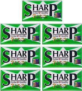 35 Sharp 7AM Super Platinum ostrza do golenia