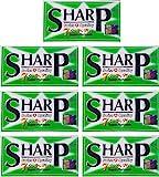 35 cuchillas Sharp 7AM Super Platinum
