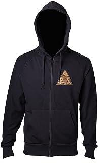 Zelda - Sweat-shirt à capuche - Golden Triforce - Taille M