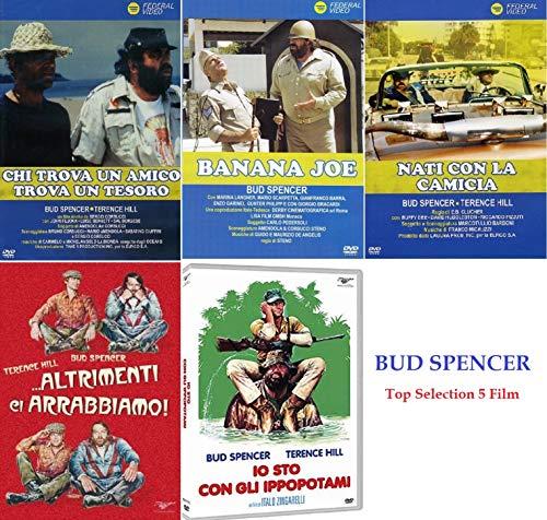 BUD SPENCER (Io Sto Con Gli Ippopotami - Altrimenti Ci Arrabbiamo - Chi Trova Un Amico Trova Un Tesoro - Nati Con La Camicia - Banana Joe) (5 Dvd)