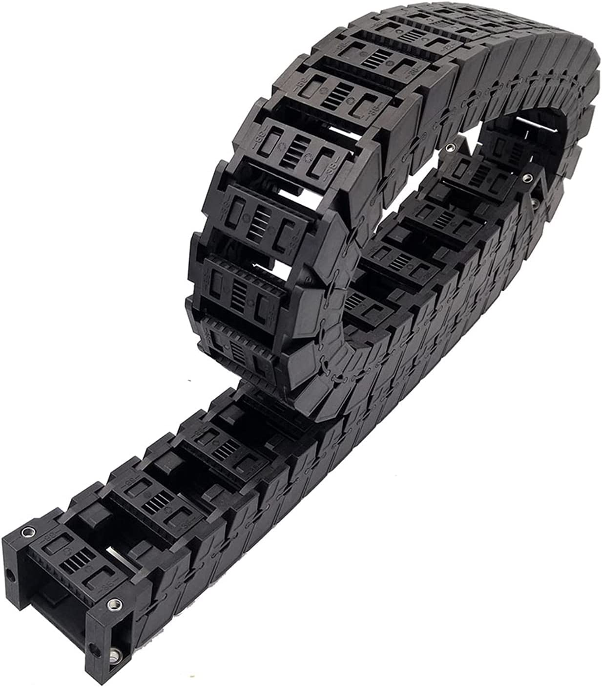 LJLWX Cable Transmission Drag Chain S25x103mm 1 Meter High-Speed