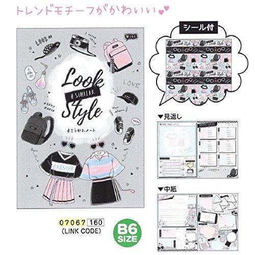 Link Code / B6 交換ノート シール付 日本製 07067