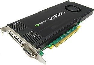 Nvidia Quadro K4000 3GB GDDR5 PCIe 2.0 x16 Dual DisplayPort DVI-I Graphics Card Dell CN3GX (Renewed)