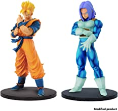 Resolution of Soldiers Vol.6 - Super Saiyan Son Gohan Action Figure & Resolution of Soldiers Volume 5 Trunks Figure 2 Pieces