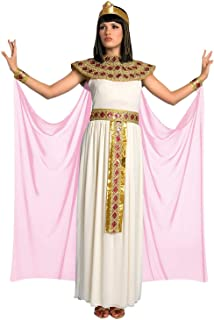 Morph Womens Pink Cleopatra Costume Ancient Egypt Egyptian Princess Dress for Women - Large