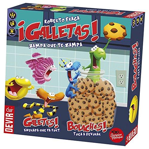 Devir - Galletas, juego de mesa (BGGALLETAS)