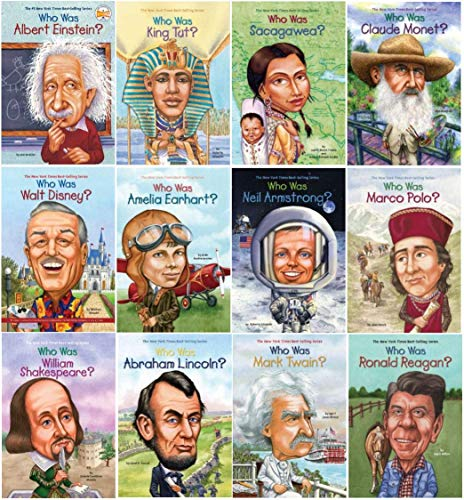 Who Was...? Children's Biography Series Set of 12 books
