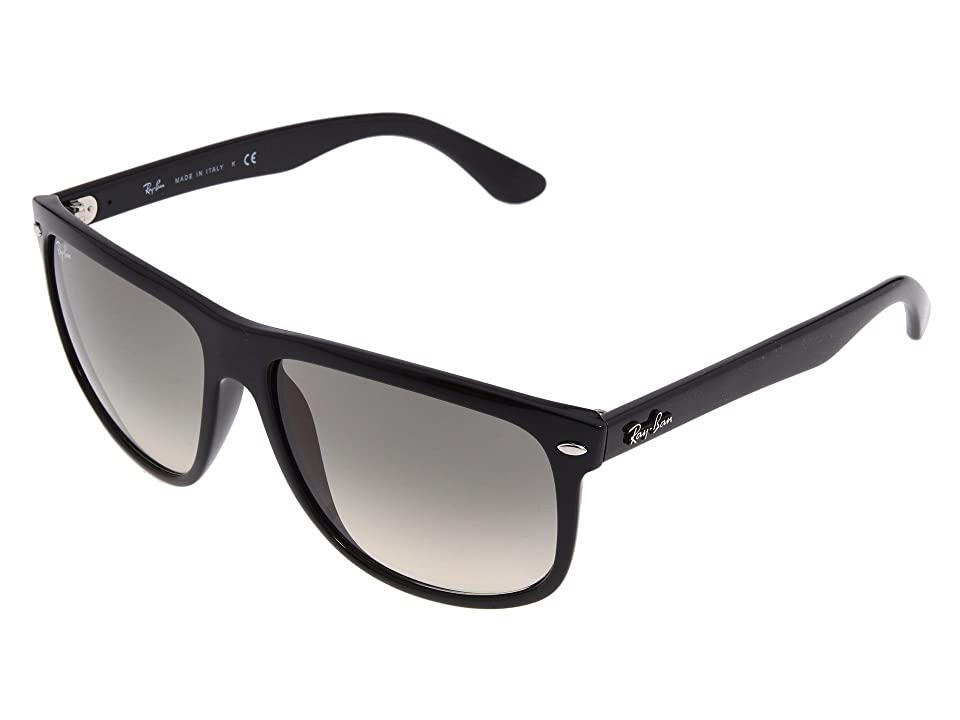 Ray-Ban RB4147 Boyfriend (Black/Black) Fashion Sunglasses