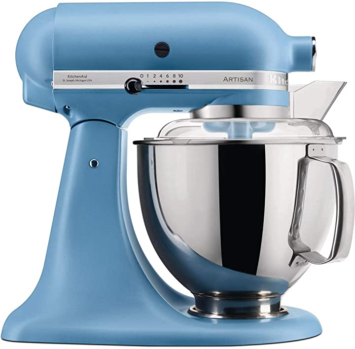 Robot da cucina artisan 4,8 l, colore: blu kitchenaid 5KSM175PSEVB
