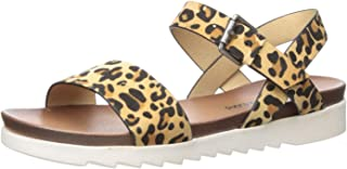 Dirty Laundry by Chinese Laundry Women's CAYLEE Flat Sandal, Tan Leopard, 8.5 M US