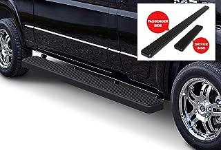 APS iBoard Running Boards 6in Matte Black Custom Fit 2014-2020 Dodge ProMaster Full Size Van 118 inches Wheelbase (Nerf Bars Side Steps Side Bars)