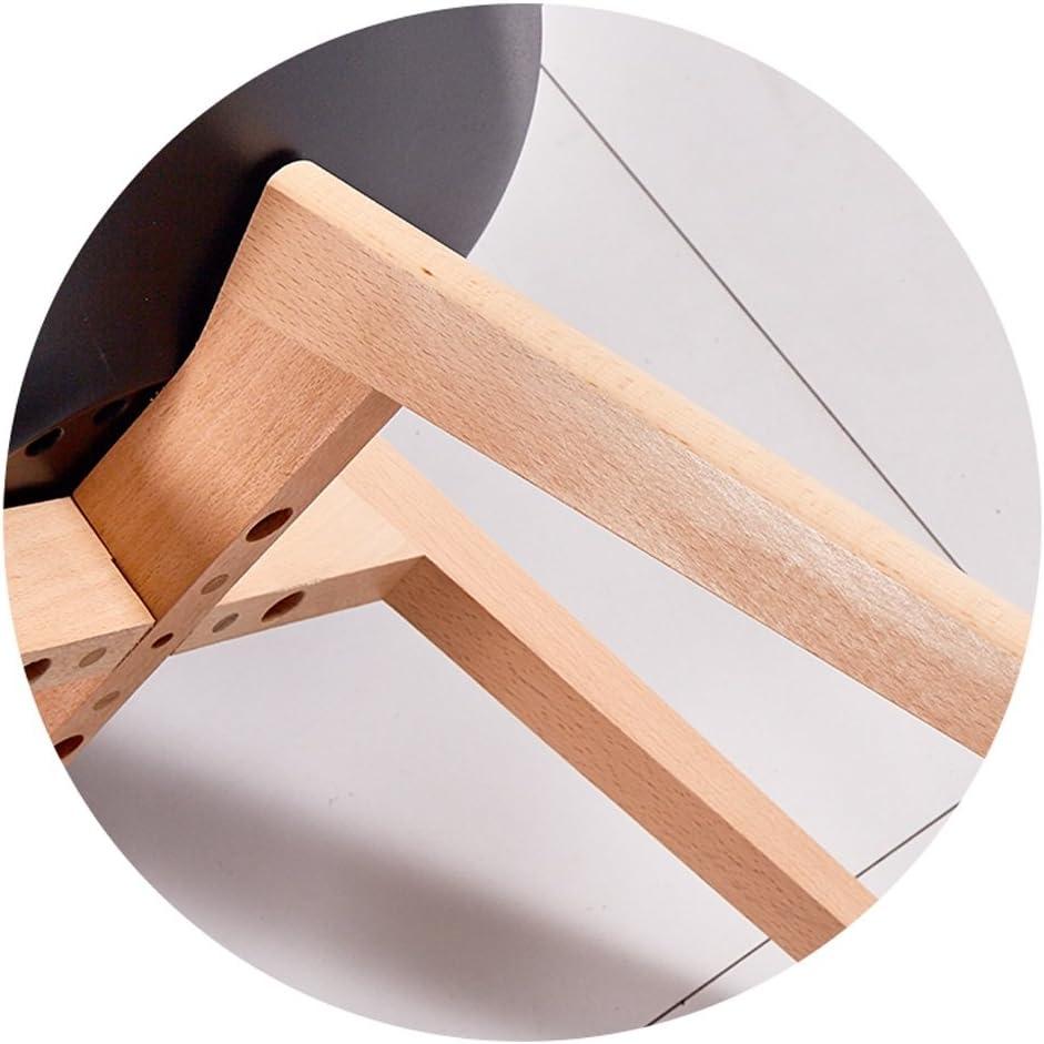 HXF- Chaise de Salle à Manger Moderne en Bois Massif Simple et Moderne Durable (Color : F) C