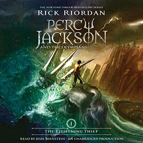 The Lightning Thief     Percy Jackson and the Olympians, Book 1              By:                                                                                                                                 Rick Riordan                               Narrated by:                                                                                                                                 Jesse Bernstein                      Length: 10 hrs and 2 mins     12,953 ratings     Overall 4.5
